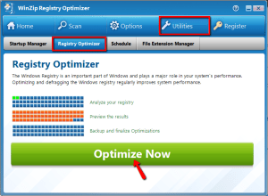 WinZip Registry Optimizer 4.21.1.2 Crack with License Key Free 2019