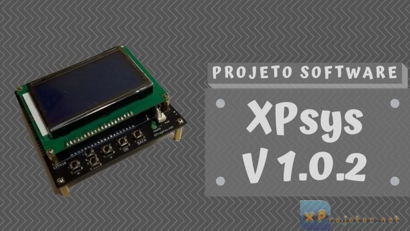 XPsys – Teclado Virtual – V1.0.2 (Alfa) – ESP32 com ST7920