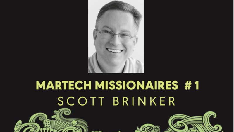 Scott Brinker - Martech Missionair Interview
