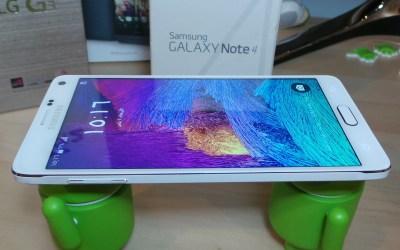 [فيديو] بالعربي فتح صندوق جالكسي نوت فور Galaxy Note 4