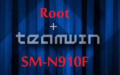 XQ55 روت+ركفري TWRP المعدل لجهاز جالاكسي نوت 4 SM-N910F