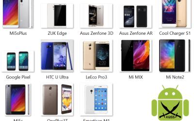هواتف بمعالج سنابدراقون 821 – Snapdragon 821 Phones