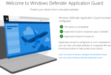 Photo of لويندوز كيف تفعل Windows Defender Application Guard