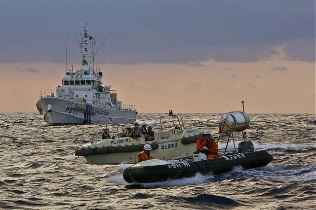 中国海警在钓鱼岛海域驱离日本渔船!日本称不能容忍中国的举动