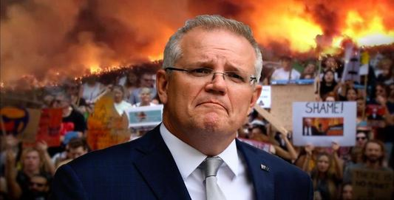 澳大利亚又曝出丑闻,女职员在国会内遭性侵,民众要求莫里森下台