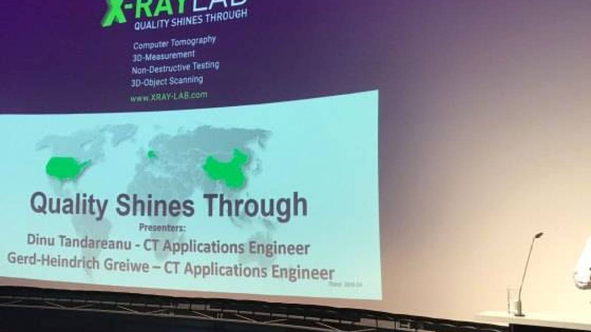 XRAY-LAB project presentation @ VolumeGraphics USer Group Meeting 2017