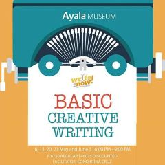 Ayala Museum's Write Now! Basic Creative Writing Workshop
