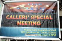 Caller's Special Meeting