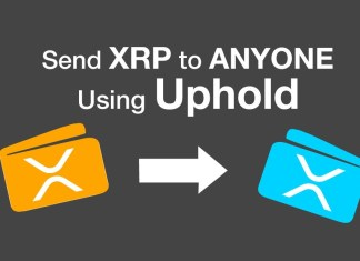Send Ripple XRP to anyone using Uphold app or website.