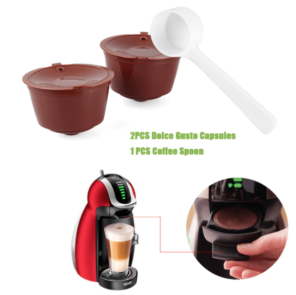 Многоразовые капсулы Nescafe Dolce Gusto
