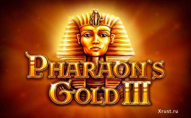 Игровой автомат Pharaohs Gold III в казино Rox