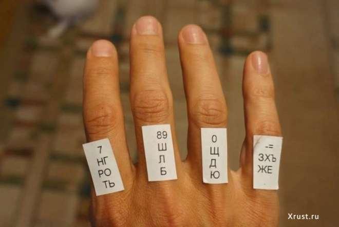 """Как научиться набирать текст """"слепым методом"""""""