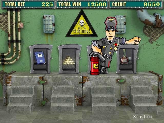 Игровой автомат Резидент в казино Вулкан