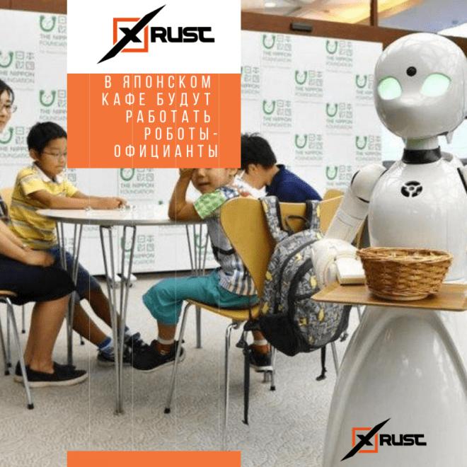В японском кафе будут работать роботы-официанты