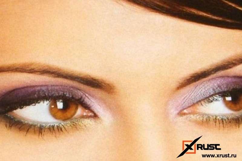 Подбираем тени под цвет глаз