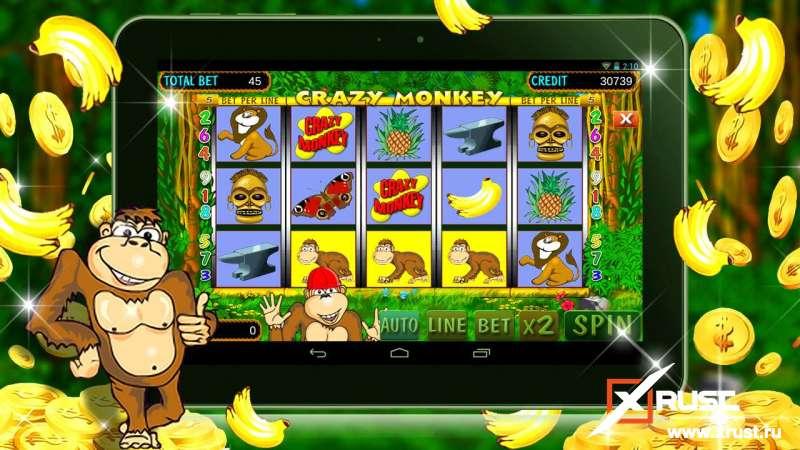 Игровой автомат Crazy Monkey. Играйте в Вулкан ставка скачать который можно быстро