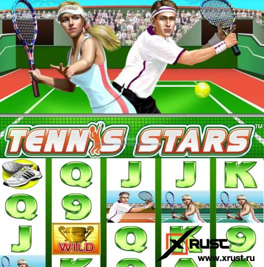 Roxcasino. Обзор игрового автомата Tennis