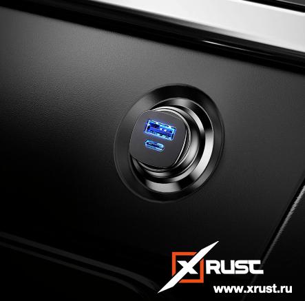Автомобильная зарядка от Baseus: обзор и фото