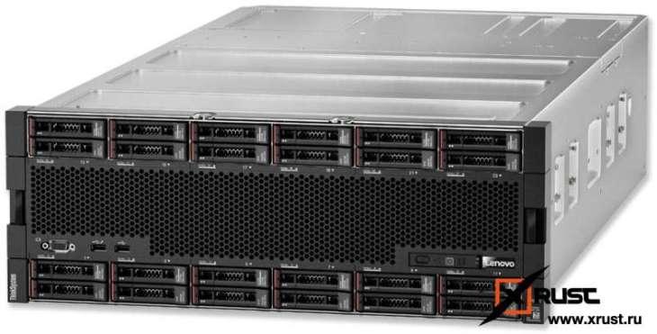 Lenovo ThinkSystem SR670. Стоечный сервер