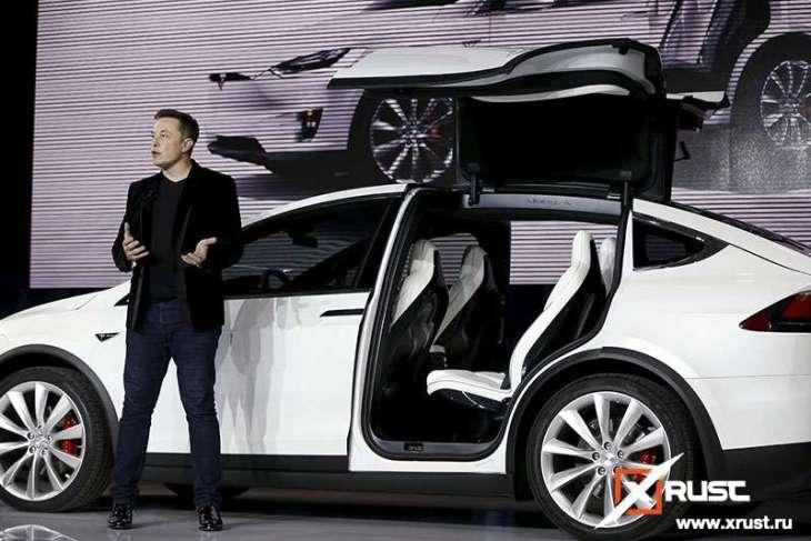Tesla: рекорд по выпуску электромобилей