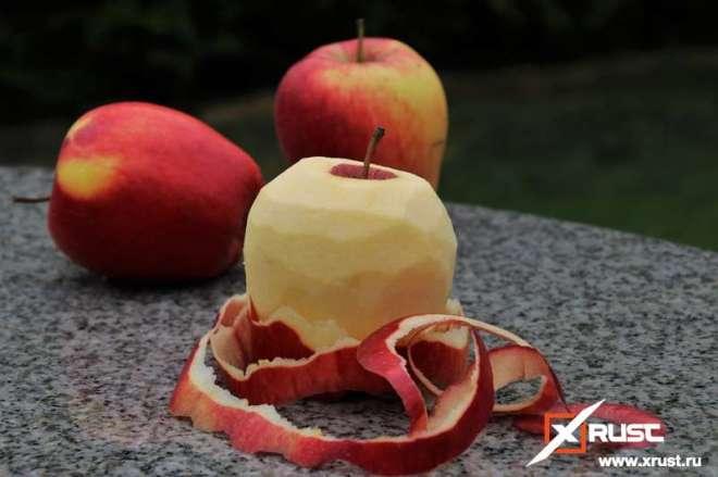 Кожура яблок - средство от рассеянного склероза