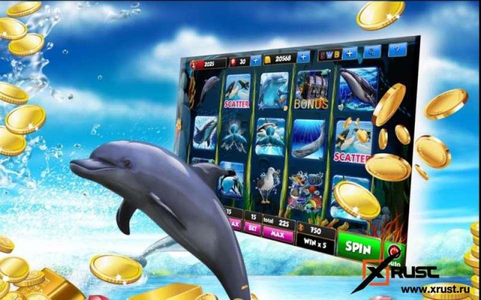 Игровой автомат Dolphin Quest в Elslots казино онлайн на деньги