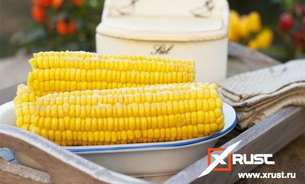 Готовим кукурузу за 10 минут