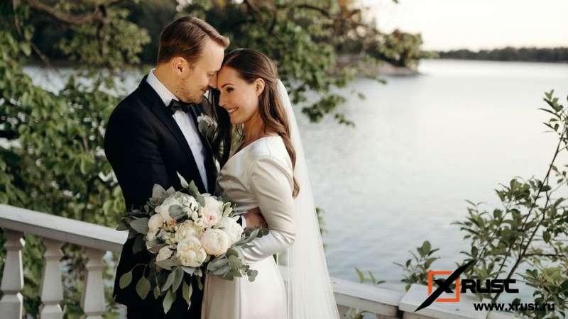 Глава финского правительства Санна Марин вышла замуж