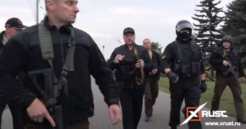 Автомат президента Лукашенко спас Резиденцию