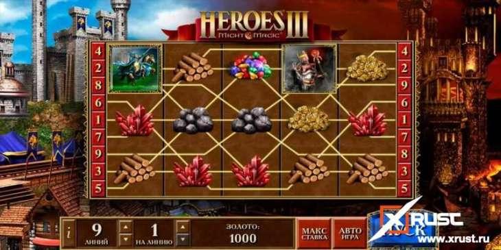 Игровой автомат на деньги Heroes 3