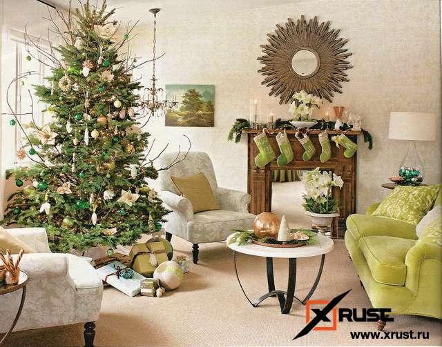 Как украсить елку в год Быка