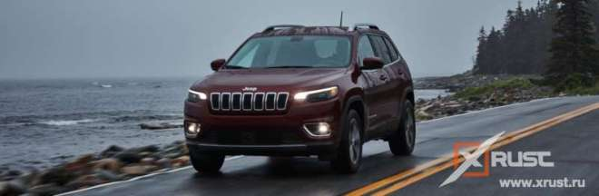 С российского рынка ушел Jeep Cherokee