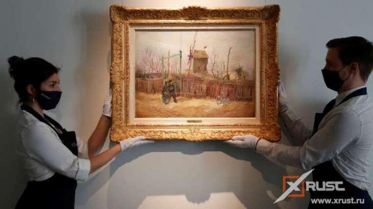 Скрываемая картина Ван Гога выставлена на аукцион