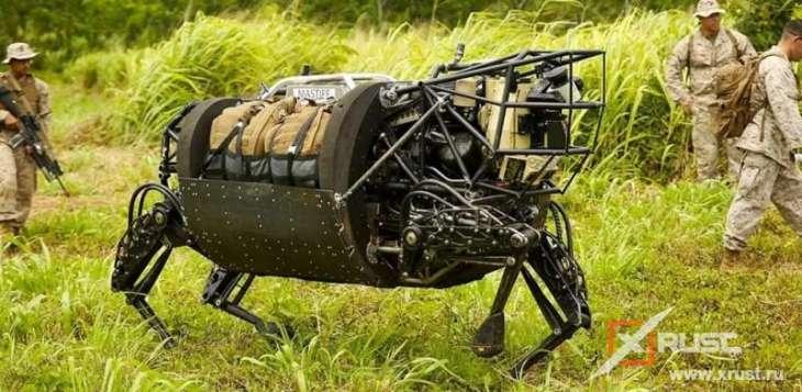 Роботы с ногами лучше колесных или гусеничных