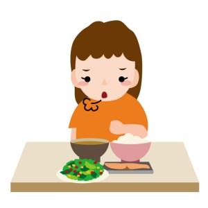 食欲不振画像