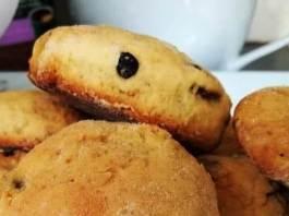 Μπισκότα με σταφίδες