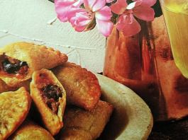 Μπουρεκάκια με Ντομάτα καί Μελιτζάνα