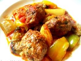 Κεφτέδες Φούρνου με λαχανικα