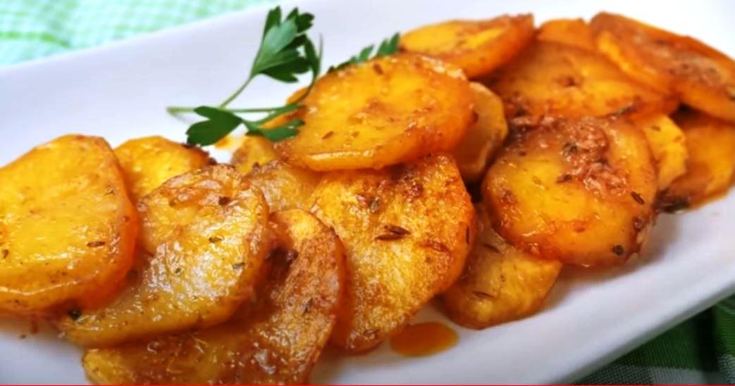 Πατάτες μαριναρισμένες