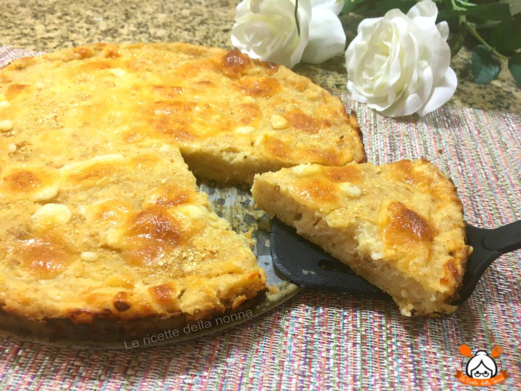 Αλμυρή Πίτα με βάση το ψωμί