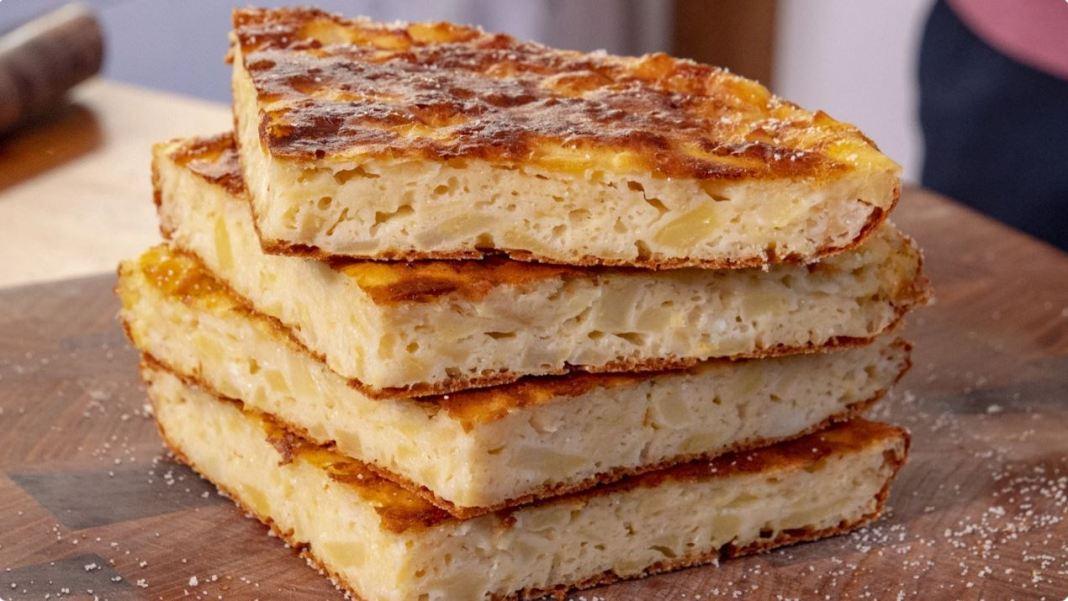 Μηλόπιτα με τυρί