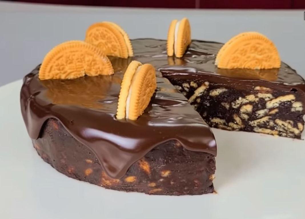 κεικ σοκολάτας με ορεο