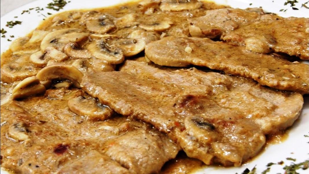Μοσχαρίσιο Φιλέτο με μανιτάρια
