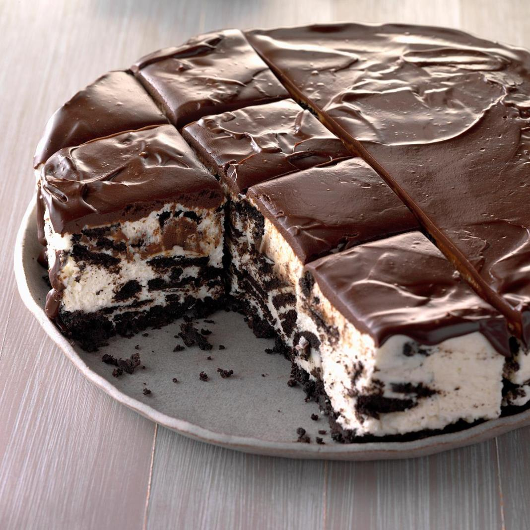 Oreo μπισκότο τσιζκέικ με μπισκότο