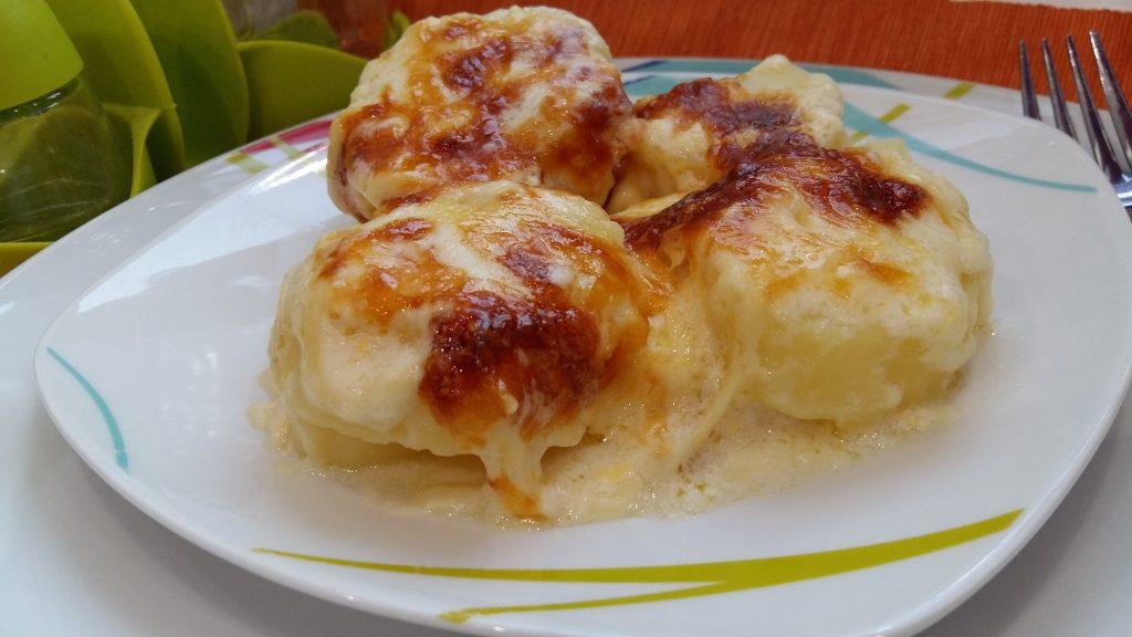 Πατάτες Μπεσαμελ