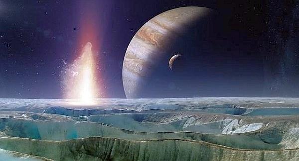 Okyanusla Kaplı Uydu: Europa