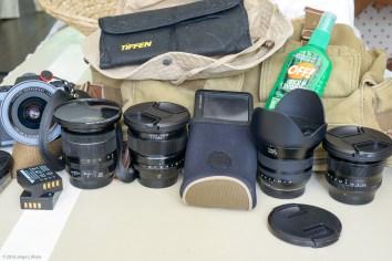 Gear in Cheap Amazon Canvas Bag. Taken with Nikon D800e