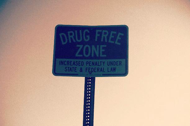 drug free zone picture