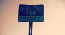 drug free zone picture