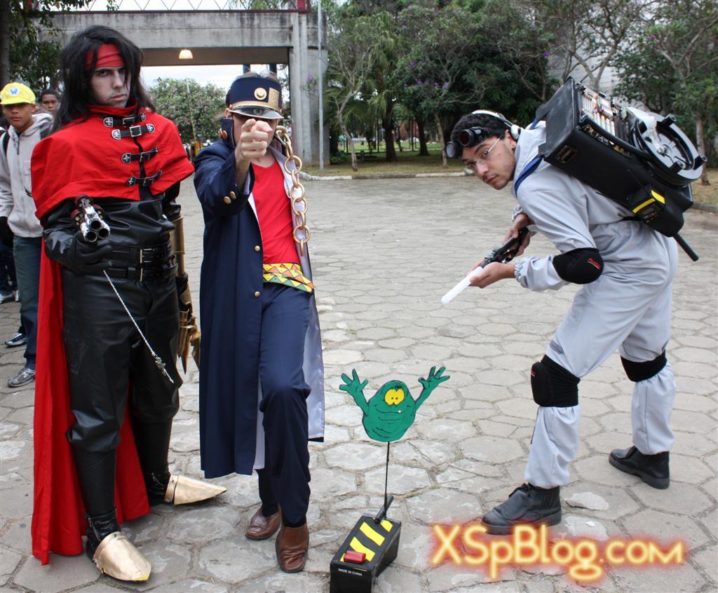 Final Fantasy VII, Jojo's Bizarre Adventure and Ghostbusters (Vincent, Jotaro and ?) - ?